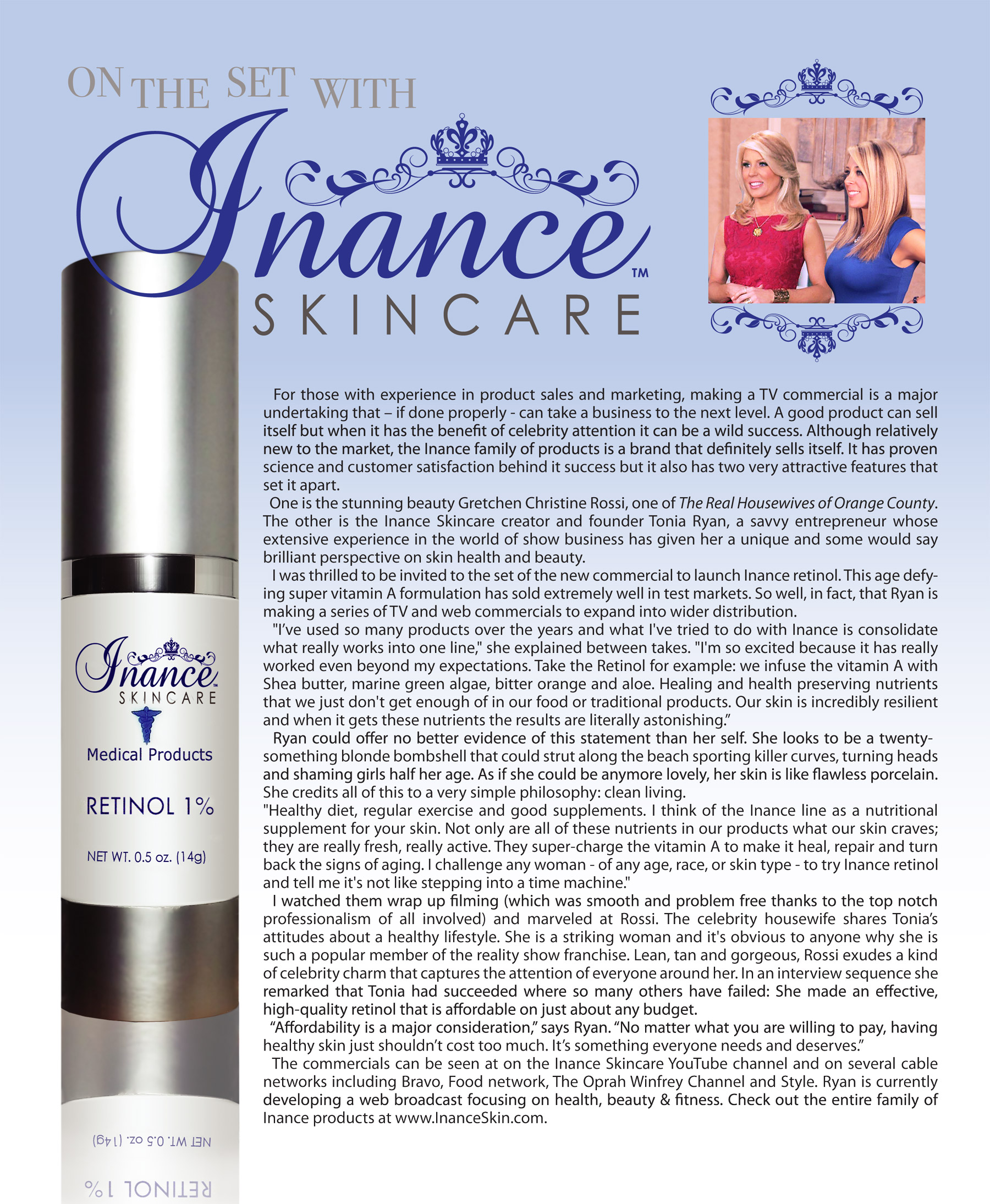 Tonia Ryan & Gretchen Rossi Featured in the July/August Afflent Magazine