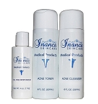 Inance Acne Starter Set for Normal to Oily Skin  (3 Piece Kit) (Compare to Obagi Clenziderm)