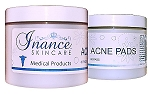 Inance Homecare Acne Pads 60 Pads.  (Compare to Obagi Clenziderm)