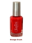 Inance Skincare Dynamic Chip Resistant Long Lasting Nail Polish, 5 Free of Chemicals, Orange Crush