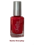 Inance Skincare Dynamic Chip Resistant Long Lasting Nail Polish, 5 Chemical Free, Santa Everyday