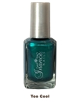 Inance Skincare Dynamic Chip Resistant Long Lasting Nail Polish, 5 Free of Chemicals, Too Cool