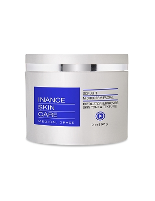 Inance Skincare Microderm Facial Exfoliator Improves Skin Tone & Texture