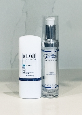 Obagi Nu Derm Clear FX & Inance Fade Cream Kit