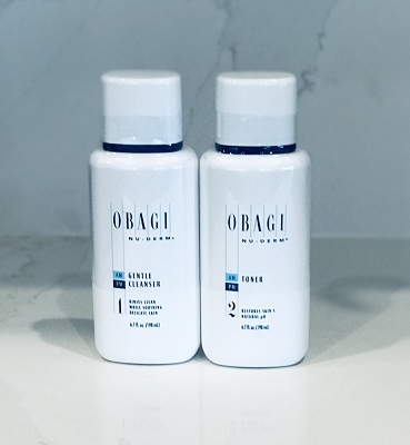 Obagi Nu Derm Gentle Cleanser and Toner Kit (Normal to Dry Skin)