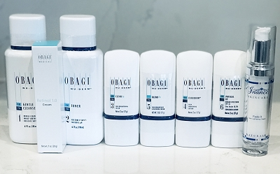 Obagi Nu Derm Normal to Oily Kit with Retinol and Inance Fade Cream