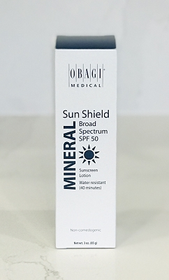 Obagi Skin Care Sun Shield  SPF 50 MINERAL Broad Spectrum Sunscreen