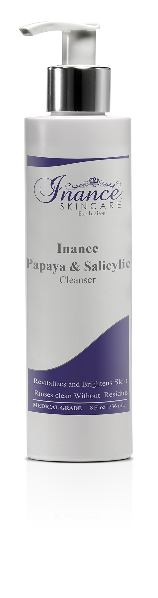 Inance Exclusive Papaya & Salicylic Cleanser 8oz