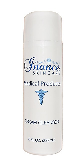 Inance Cream Cleanser 8 oz. (Step 1) Compare to Obagi Nu Derm Gentle Cleanser